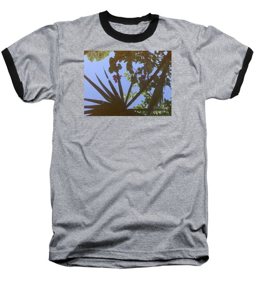 Nature Reflected Baseball T-Shirt by Nora Boghossian