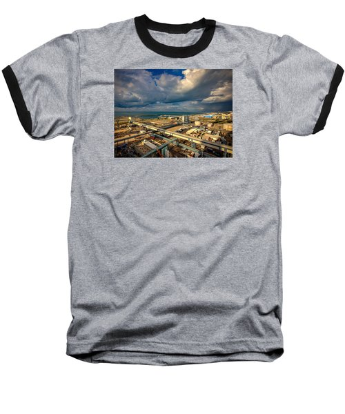 Nature Vs Technology Baseball T-Shirt
