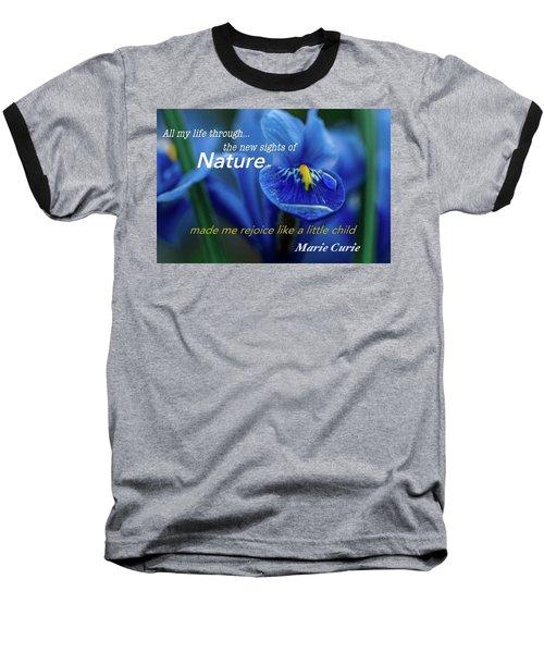 Nature208 Baseball T-Shirt by David Norman