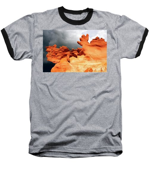 Baseball T-Shirt featuring the photograph Nature's Artistry Nevada 2 by Bob Christopher