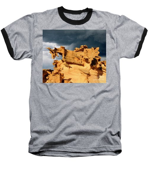 Baseball T-Shirt featuring the photograph Nature's Artistry Nevada 3 by Bob Christopher
