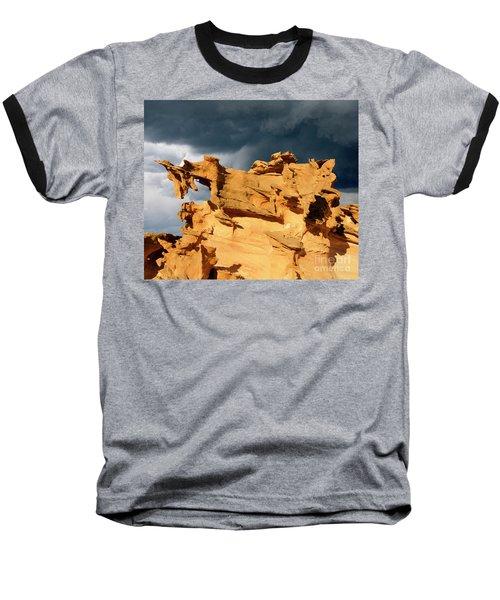 Nature's Artistry Nevada 3 Baseball T-Shirt by Bob Christopher
