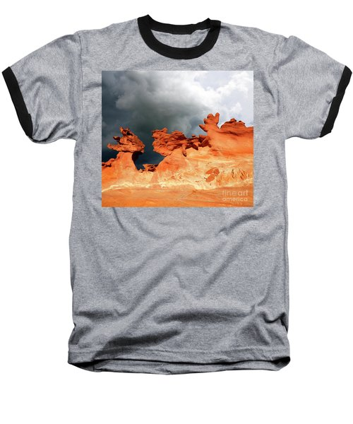 Nature's Artistry Nevada Baseball T-Shirt by Bob Christopher