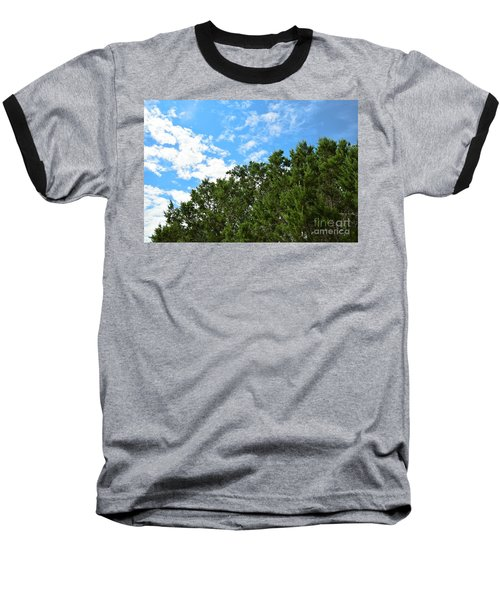 Baseball T-Shirt featuring the photograph Nature's Beauty - Central Texas by Ray Shrewsberry