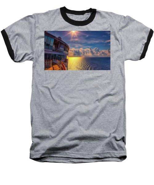 Natures Beauty At Sea Baseball T-Shirt