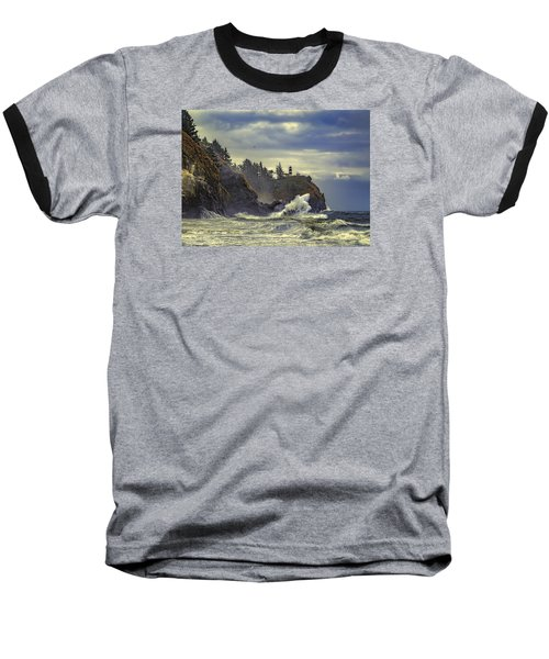 Natures Beauty Unleashed Baseball T-Shirt by James Heckt