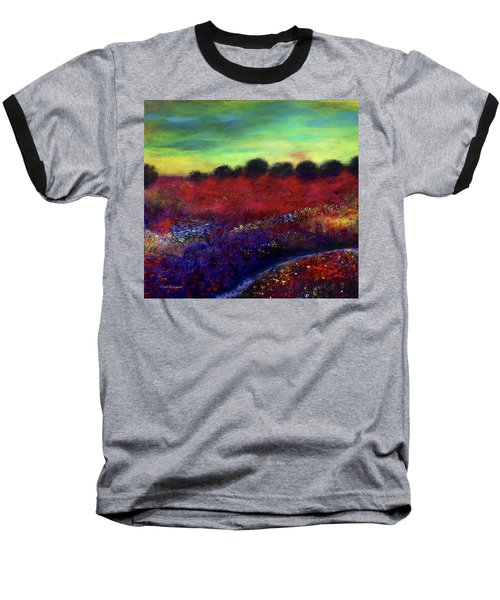 Natures Bouquet Baseball T-Shirt by Dick Bourgault