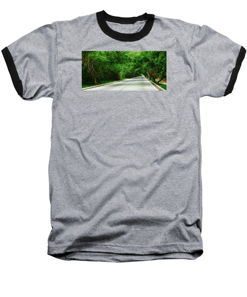 Baseball T-Shirt featuring the photograph Nature's Canopy by Cameron Wood