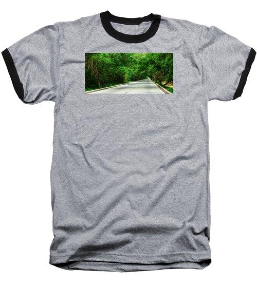 Nature's Canopy Baseball T-Shirt