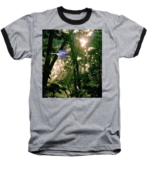 Baseball T-Shirt featuring the photograph Nature's Cathedral by Marie Hicks