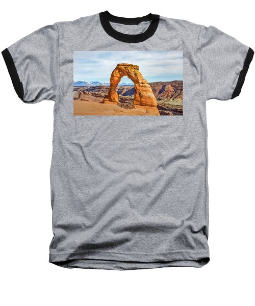 Baseball T-Shirt featuring the photograph Nature's Delicate Balance by James Woody