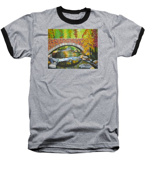 Natures Eye Baseball T-Shirt by Donna Blossom