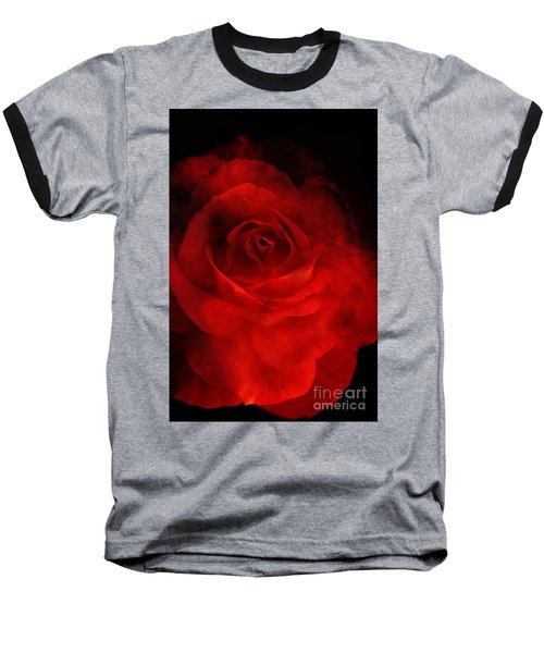 Baseball T-Shirt featuring the photograph Natures Flame by Stephen Mitchell