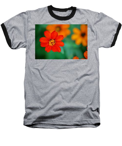 Baseball T-Shirt featuring the photograph Nature's Glow by Debbie Karnes