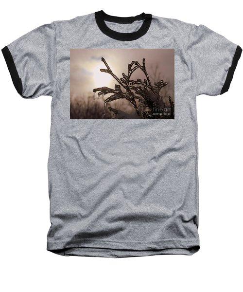 Natures  Ice Sculpture Baseball T-Shirt