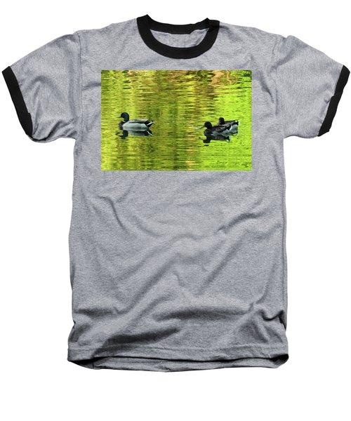 Nature's Impressionist Art No.3 Baseball T-Shirt