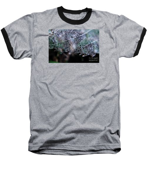 Nature's Lace Baseball T-Shirt by Rebecca Davis
