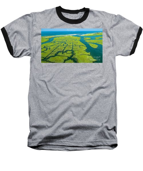 Natures Lines Baseball T-Shirt