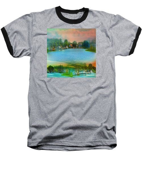 Nature's Magical Sunsets Baseball T-Shirt by Judy Palkimas
