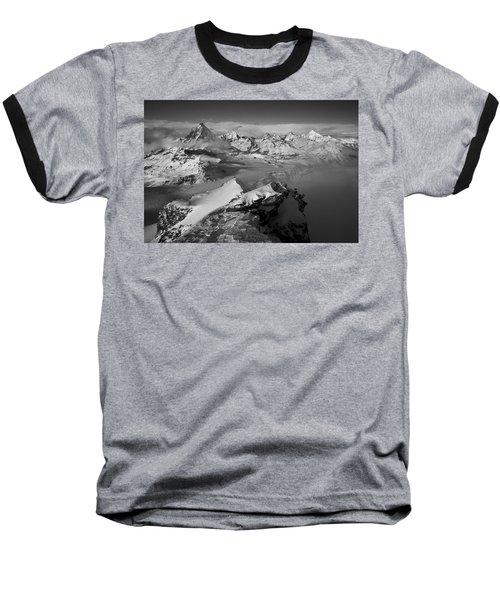 Natures Pyramids Baseball T-Shirt