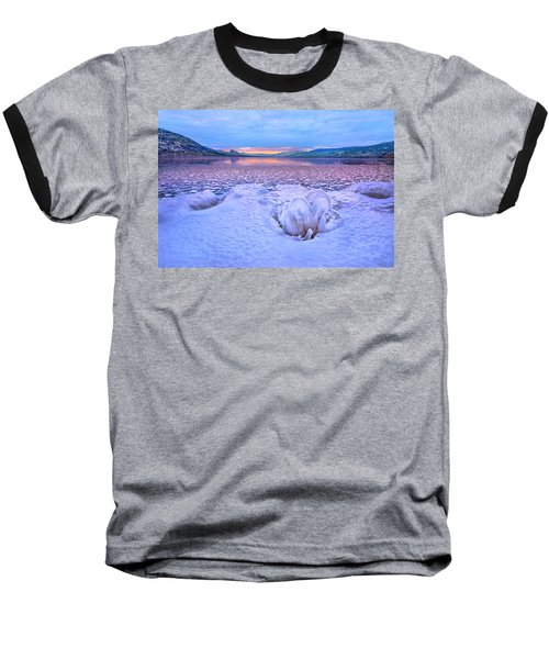 Baseball T-Shirt featuring the photograph Nature's Sculpture by John Poon
