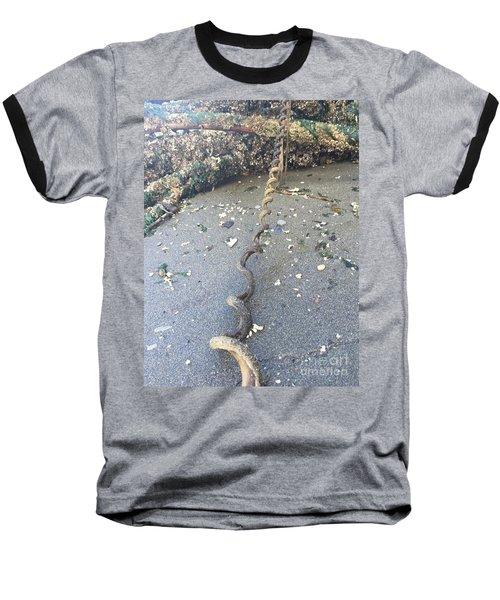 Nature's Spiral Baseball T-Shirt