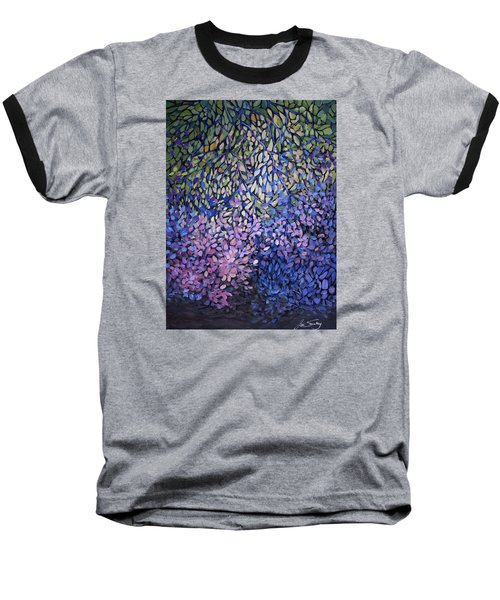 Natures Stain Glass Symphony Baseball T-Shirt by Joanne Smoley