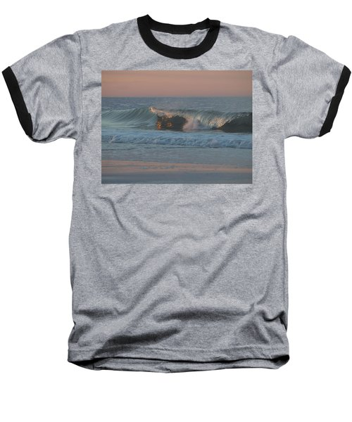 Baseball T-Shirt featuring the photograph Natures Wave by  Newwwman