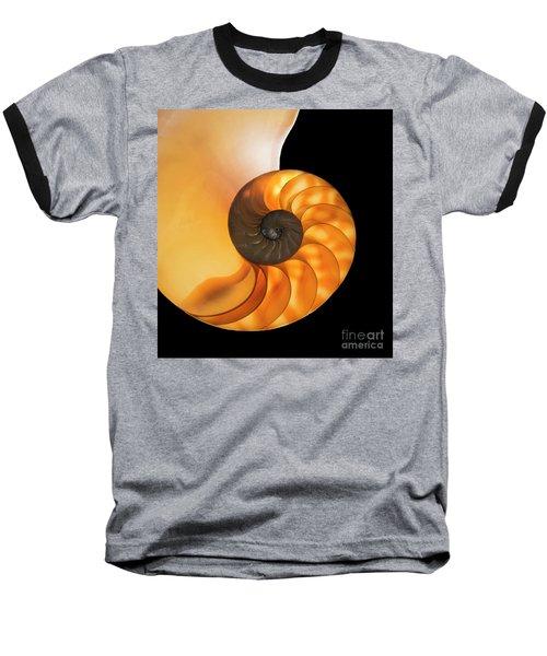 Baseball T-Shirt featuring the photograph Nautalis by Brian Jones