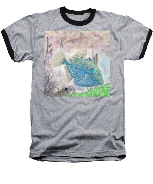 Baseball T-Shirt featuring the photograph Nautical Beach And Fish #2 by Debra and Dave Vanderlaan
