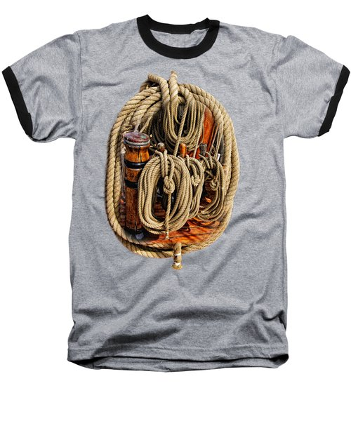 Nautical Knots 16 Baseball T-Shirt
