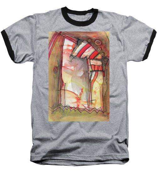 Nautical Mystery Baseball T-Shirt by Sandra Church