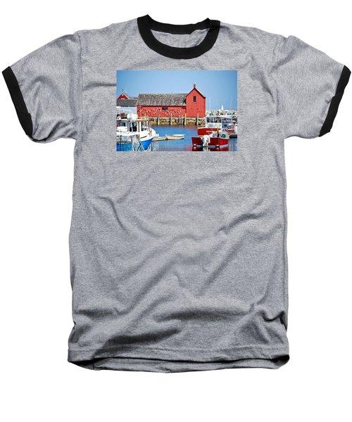 Nautical Rockport Days Baseball T-Shirt