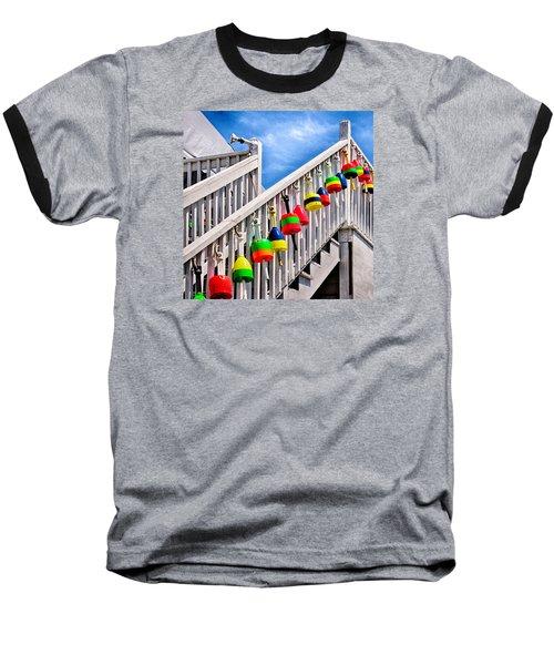 Nautical Stairway Baseball T-Shirt