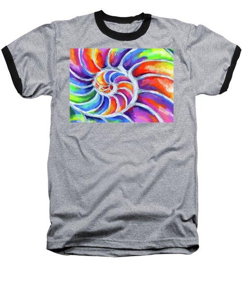 Nautilus Curves Baseball T-Shirt