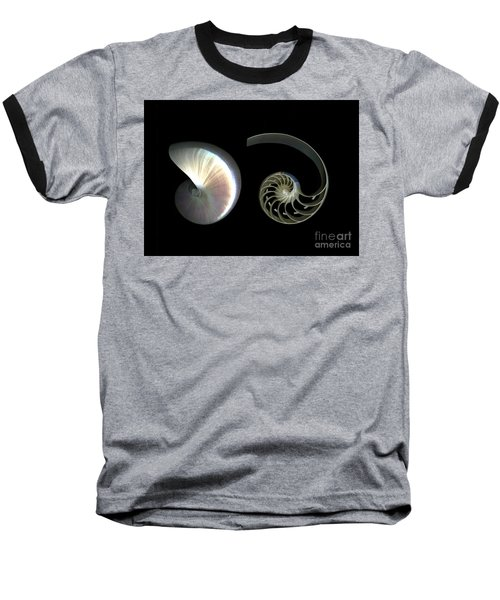 Nautilus Deconstructed Baseball T-Shirt