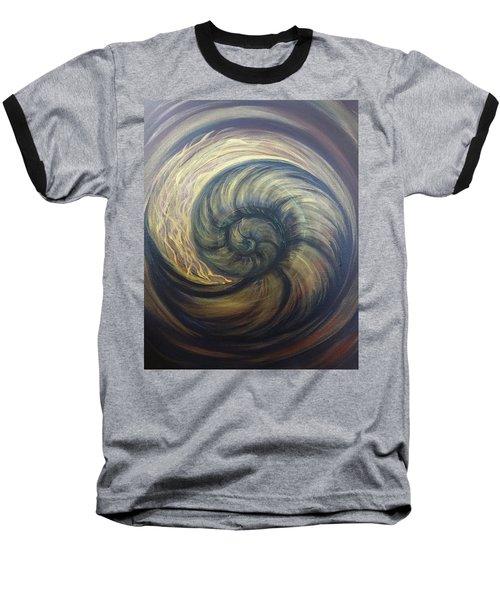 Nautilus Spiral Baseball T-Shirt