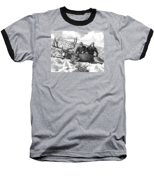 Navada Hunt 2015 Baseball T-Shirt by Peter Piatt