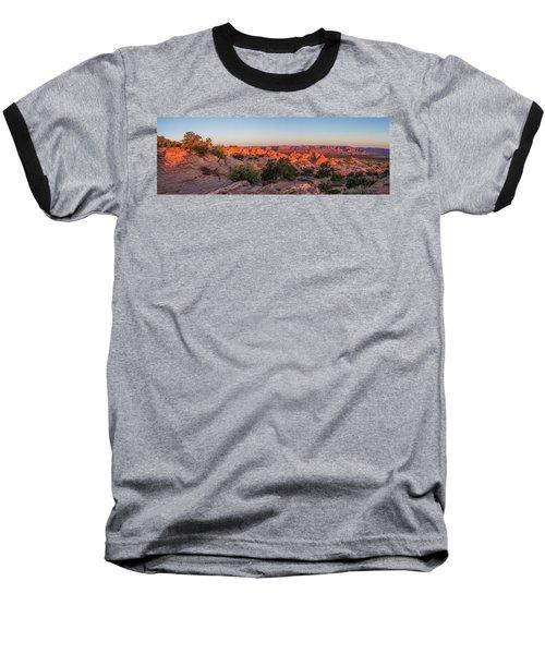 Navajo Land Morning Splendor Baseball T-Shirt