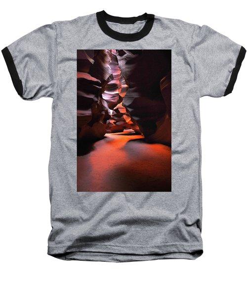 Navajo Magic Antelope Canyon Baseball T-Shirt
