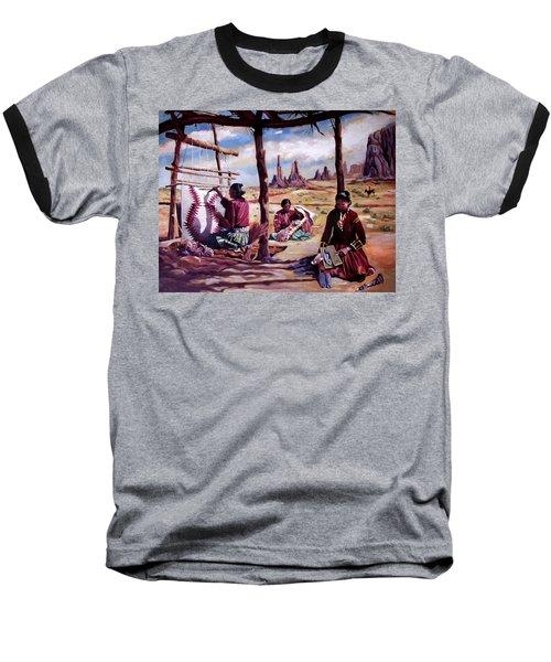 Navajo Weavers Baseball T-Shirt