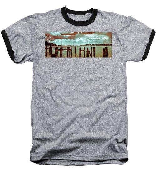Naval Academy Sailing School Baseball T-Shirt