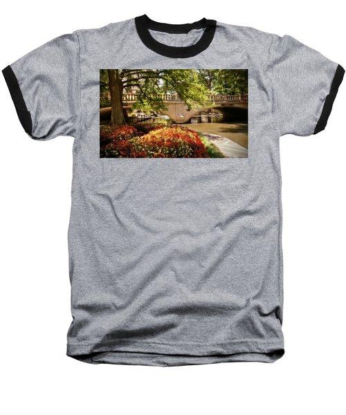 Navarro Street Bridge Baseball T-Shirt