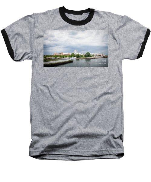 Navy Pier In Chicago Baseball T-Shirt