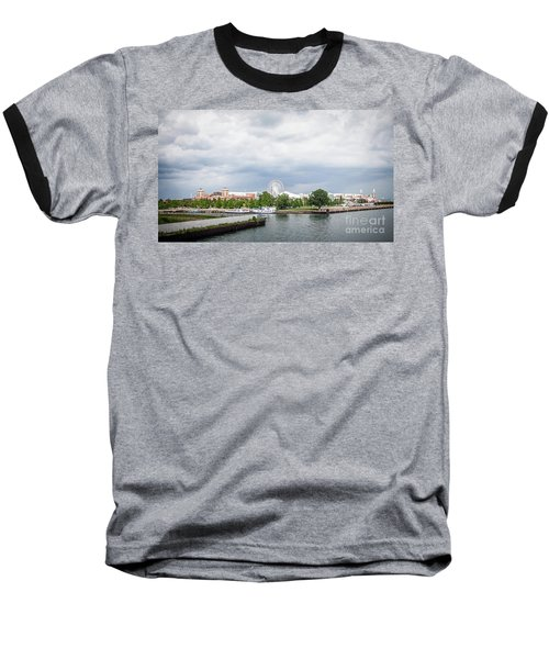 Navy Pier In Chicago Baseball T-Shirt