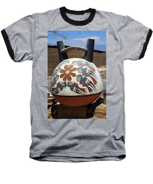 Nazca Ceramics Peru Baseball T-Shirt by Aidan Moran