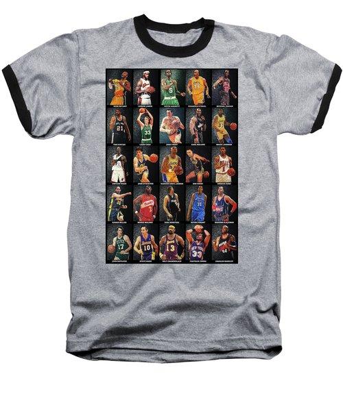 Nba Legends Baseball T-Shirt