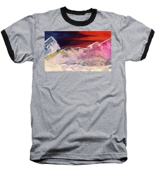 Near Arrow Mountains Baseball T-Shirt