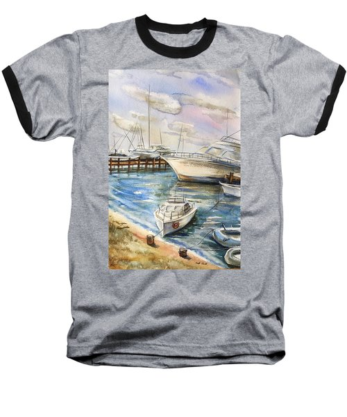 Near The Harbour 2 Baseball T-Shirt