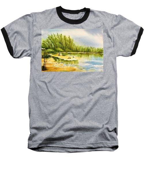 Near The Lake 4 Baseball T-Shirt